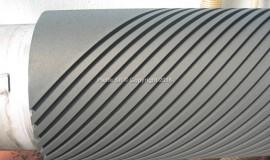 Rigature su rulli rivestiti in elastomero