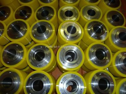 Ruote rivestite in ADIPRENE® P167