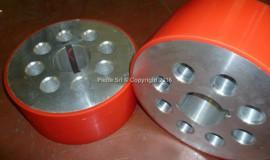 Ruote rivestite in ADIPRENE® P100