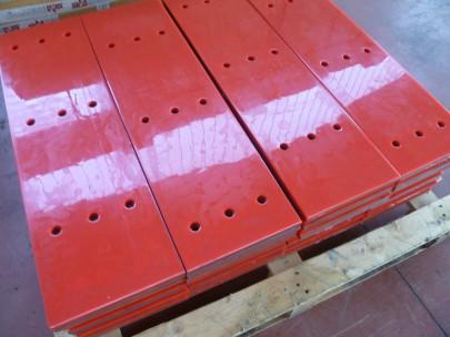 acciaieria piastre rivestite poliuretano articoli tecnici