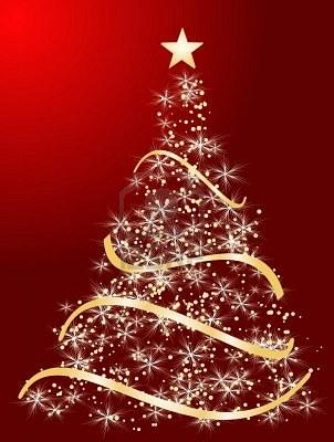 Immagini Di Natale Per Sfondo.Pieffe Srl 7879473 Albero Di Natale Stilizzato Su Uno