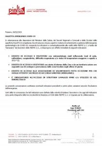 Covid-19 Comunicazione per gestione emergenze nazionali
